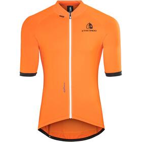 Etxeondo Entzun Fietsshirt korte mouwen Heren oranje